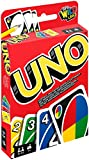 Mattel Games W2087 - UNO Kartenspiel, geeignet für 2 - 10 Spieler, Spieldauer ca. 15 Minuten, Gesellschaftsspiele und Kartenspiele ab 7 Jahren