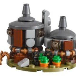 LEGO® 71043 – Hagrids Hütte mit Aragog | ©2018 LEGO Gruppe
