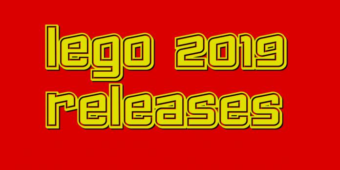 LEGO 2019 Release Neuerscheinungen
