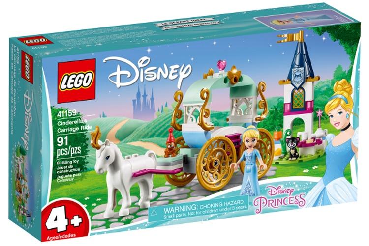 LEGO Disney Princess 2019 | Cinderellas Kutsche 41159